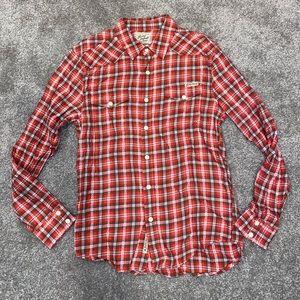 Lucky Brand Men's Western Plain Shirt